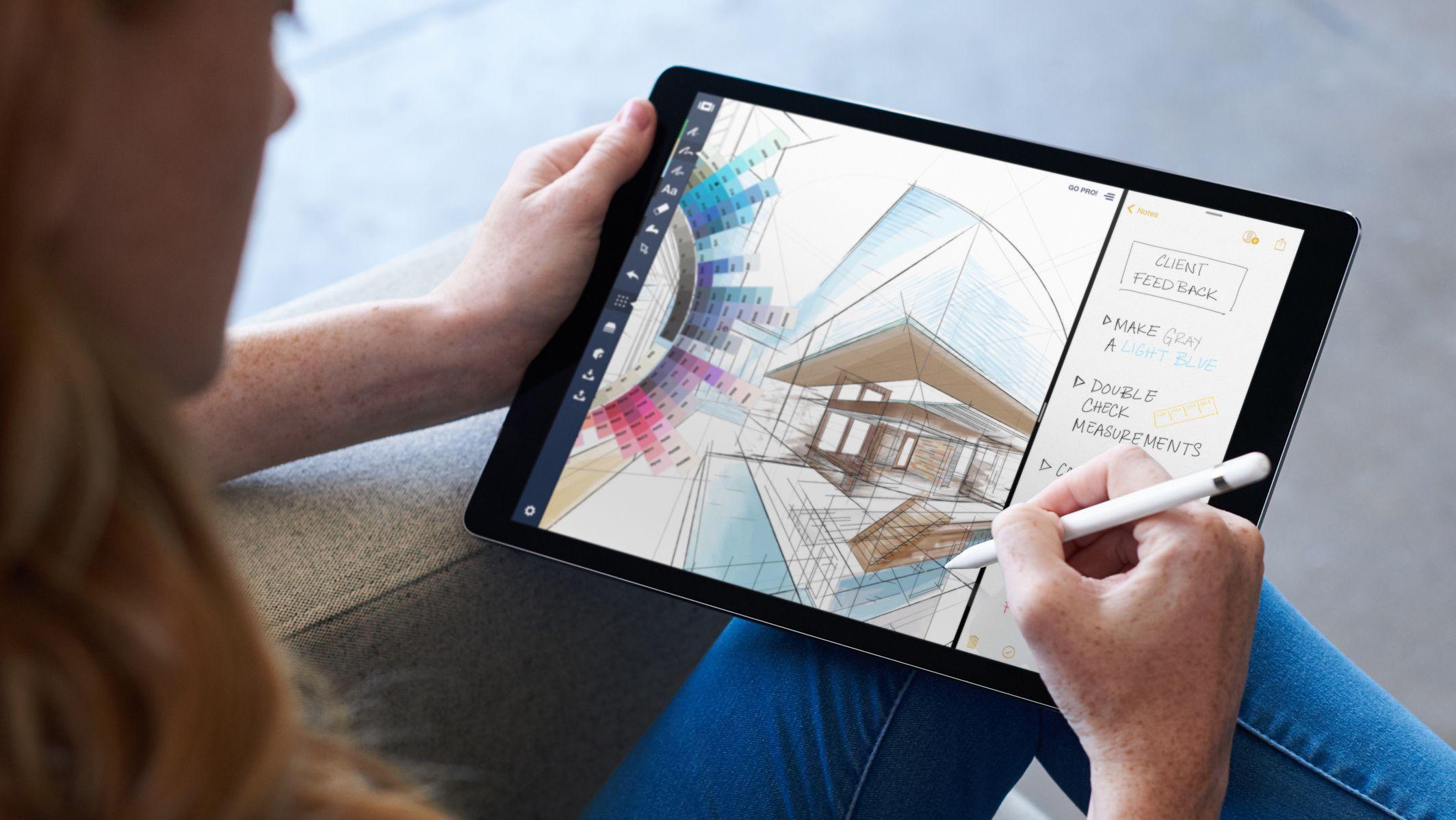 iPad Pro en déplacement